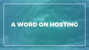 High Performance Web Hosting